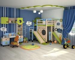 <p><em><strong>Ремонт маленькой детской комнаты для мальчика.</strong></em></p>