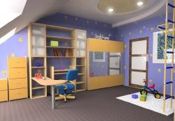 <p>Ремонт детской с учетом игрового пространства.</p>