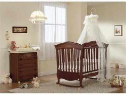 <p>Детская комната для новорожденного мальчика. Цвет кремовый.</p>