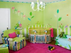 <p><em><strong>Дизайн комнаты для новорожденной девочки. Ремонт и отделка.</strong></em></p>