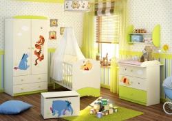<p><em><strong>Kомната для новорожденной девочки. Дисней бейби сити - Disney baby-City.</strong></em></p>