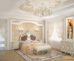 <p><em><strong>Ремонт спальни: Дизайн спальни в стиле 16 века.</strong></em></p>