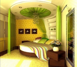 Ремонт и отделка спальни: дизайн маленькой спальни.