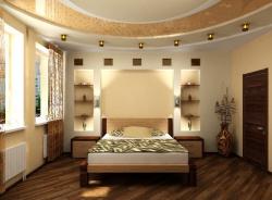 Ремонт и отделка спальни: светлая спальная комната.