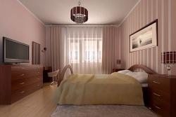 Ремонт спальни: Дизайн спальни в современном стиле.