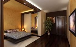 Ремонт спальни: Обои для спальни дизайн.