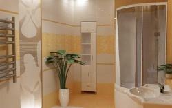 <p><em><strong>Ремонт ванной: Дизайн ванной комнаты с душевой.</strong></em></p>