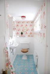 Ремонт и отделка туалета: дизайн маленького туалета WC.