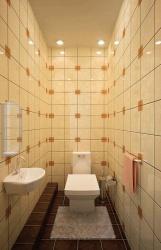 <p><em><strong>Ремонт и отделка туалета: дизайн санузла туалета WC - кремовый.</strong></em></p>