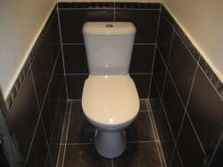 <p><em><strong>Ремонт и отделка туалета: дизайн туалета в строгом стиле.<br /></strong></em></p>