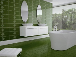 Большая ванная комната кафель. Ремонт и отделка ванной.