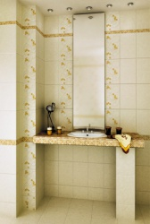 <p><em><strong>Дизайн плитки в ванную комнату.&nbsp; Ремонт и отделка.</strong></em></p>