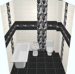 <p><em><strong>Кафельная плитка для ванной - Кураж. Ремонт и отделка.</strong></em></p>