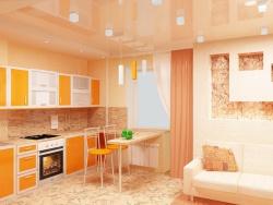 <p><em><strong>Дизайн кухни гостиной. Дизайн хрущевки в стиле минимализм.</strong> </em></p>