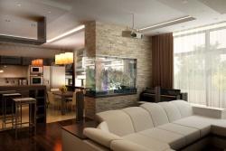 <p><em><strong>Интерьер кухни гостиной: дизайн гостинки совмещенной с кухонным</strong></em></p>