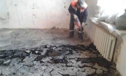 <p>Демонтажные и черновые работы в Москве. Возведение и штукатурка стен. / м. Динамо</p>