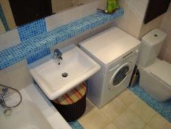 <p>Стиральная машина совмещенная ванна с туалетом</p>