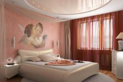 <p>Интерьер маленькой спальни</p>