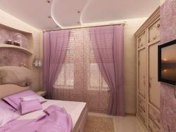 <p>Варианты отделки стен в спальне</p>