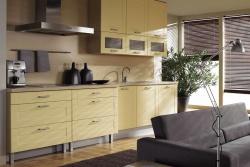 <p><em><strong>Ремонт и отделка кухни: дизайн кухни гостиной серо-кремовый.</strong></em></p>