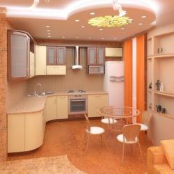 <p><em><strong>Кухня интерьер дизайн в постельных тонах. Ремонт и отделка.</strong></em></p>