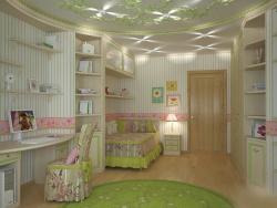 <p><em><strong>Ремонт, отделка и оформление детской комнаты для девочки.</strong></em></p>