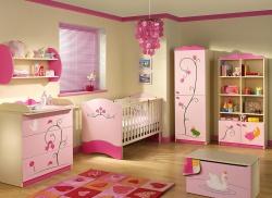 <p>Маленькая детская комната для девочки. Ремонт и отделка.</p>
